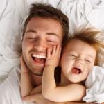 Il bagnetto: un momento di relazione con papà
