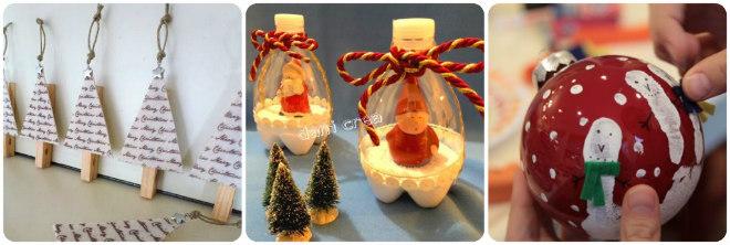 Lavoretti natalizi da fare con i bambini mamma felice for Oggetti natalizi fai da te
