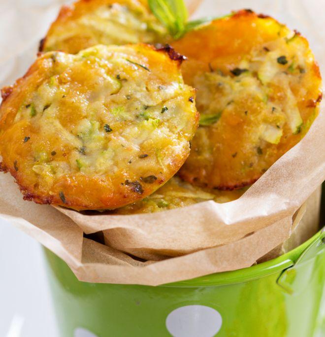 Exceptionnel Frittelle di zucchine al forno per la merenda a scuola | Mamma Felice PW61