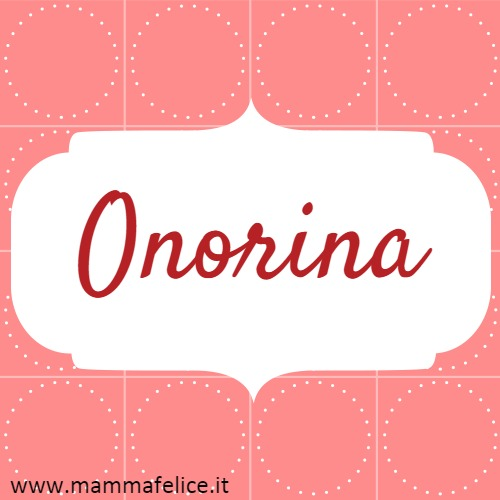 Onorina