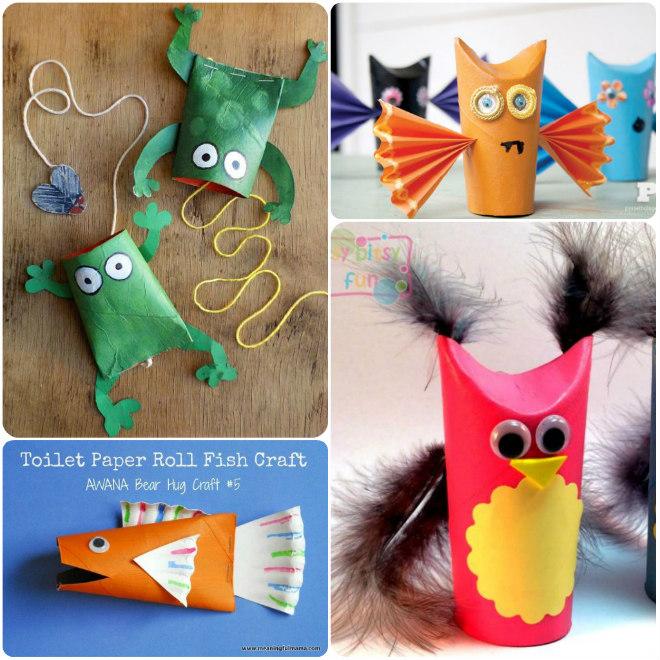 Giochi Creativi Per Bambini Con I Rotoli Di Carta Igienica Mamma