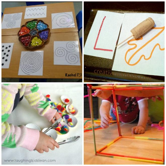 Conosciuto Montessori: Giochi di motricità fine divisi per età | Mamma Felice AD11