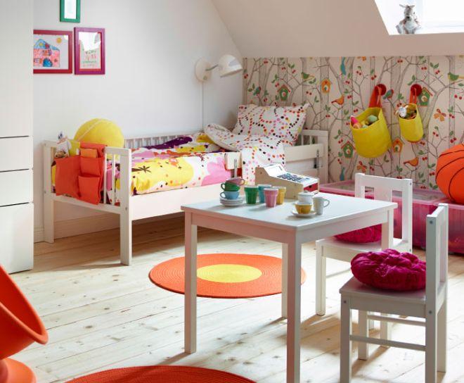 La cameretta montessori e lo spazio creativo mamma felice - Ikea letto montessori ...