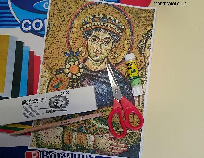 arte-per-bambini-mosaico-bizantino-collage