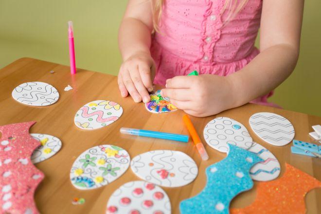 Lavoretti creativi per pasqua mamma felice for Lavoretti di primavera