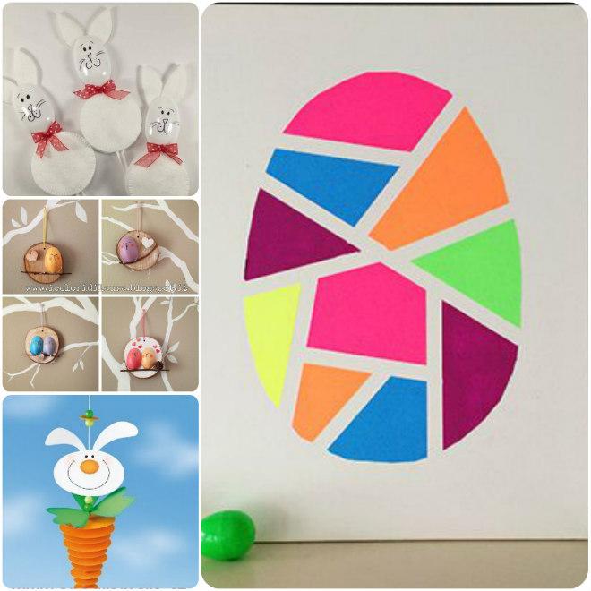 Lavoretti creativi per pasqua mamma felice for Lavoretti per decorare la stanza