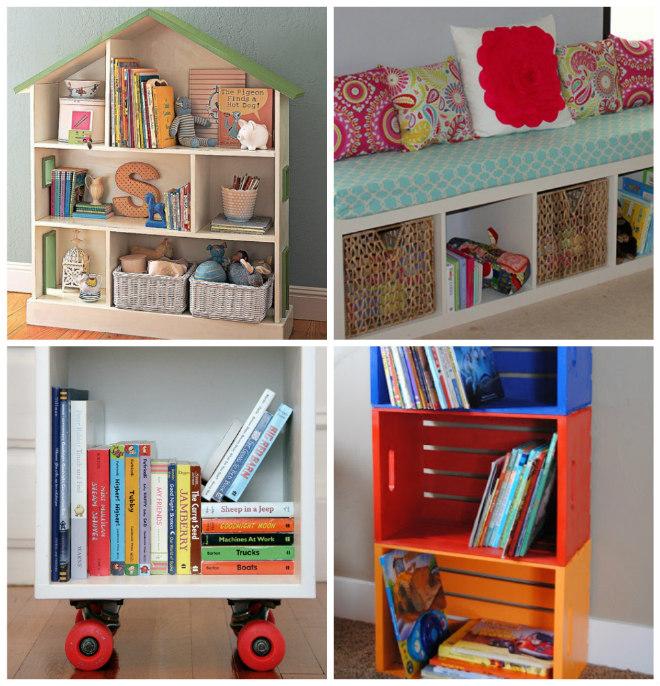 Montessori come organizzare i libri per bambini mamma - Cameretta fai da te ...