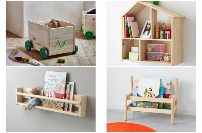 Scaffali Ikea Per Bambini : Montessori: come organizzare i libri per bambini mamma felice