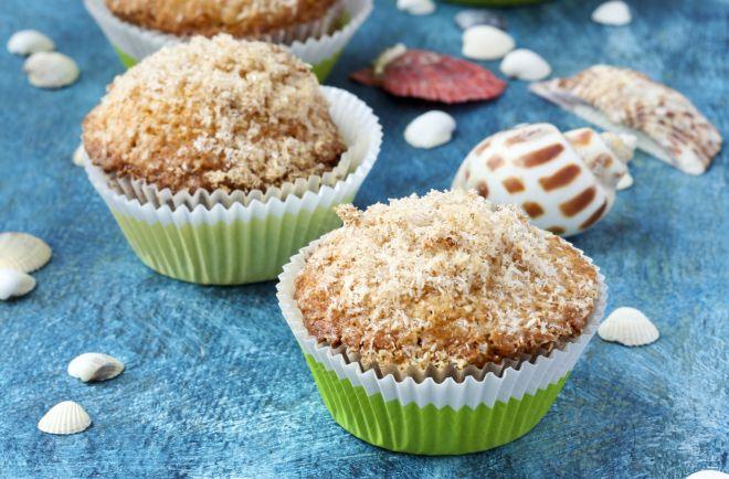 ricette-con-la-stevia-muffin-banana-cocco