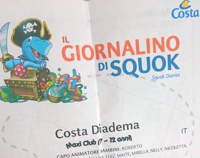 viaggiare con i bambini: costa diadema e squok club, animazione bambini in vacanza