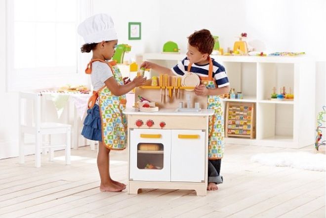 Metodo montessori e gioco simbolico mamma felice - Cucina legno bambini usata ...