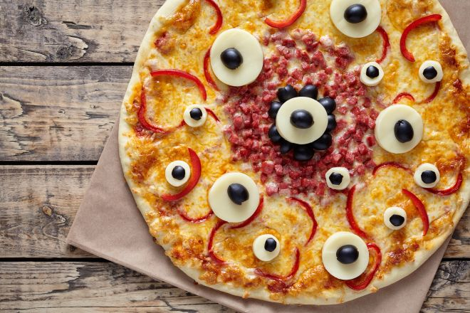 ricette-halloween-bambini-pizza