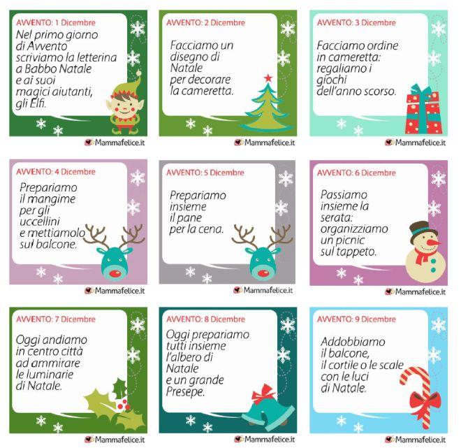 Preferenza 24 attività da stampare per il Calendario dell'Avvento | Mamma Felice ZN06