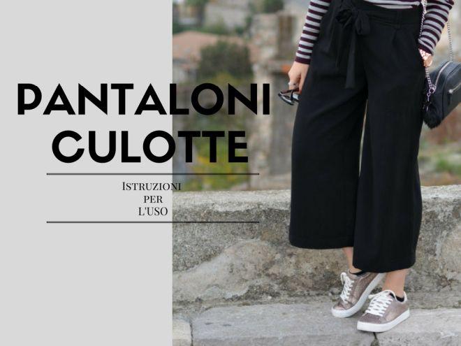 Come indossare i pantaloni culotte – o cropped pants  3ac854ec35d