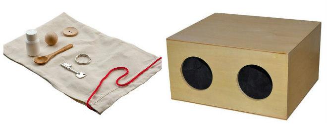 giochi-materiali-attivita-sensoriali-tatto-tattili-montessori-mistery-bags-box