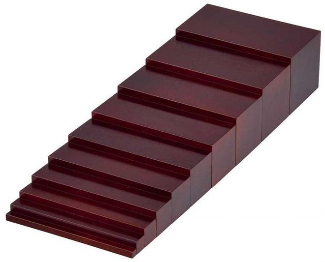 materiali-montessori-scala-marrone