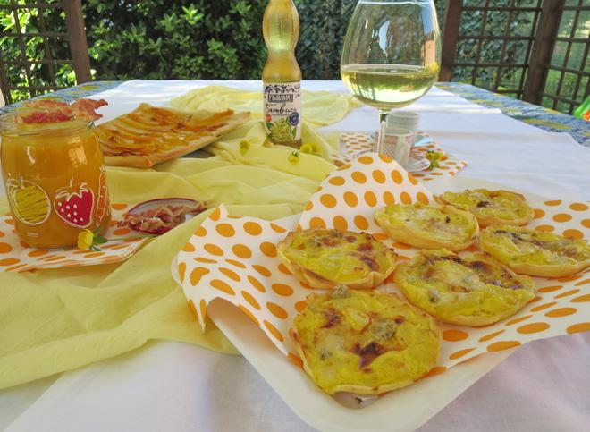 Aperitivo in giardino ricette stuzzichini aperitivi for Aperitivo ricette