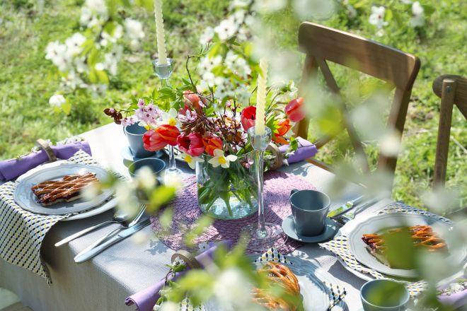 Come organizzare un buffet in giardino per tante persone for Organizzare giardino