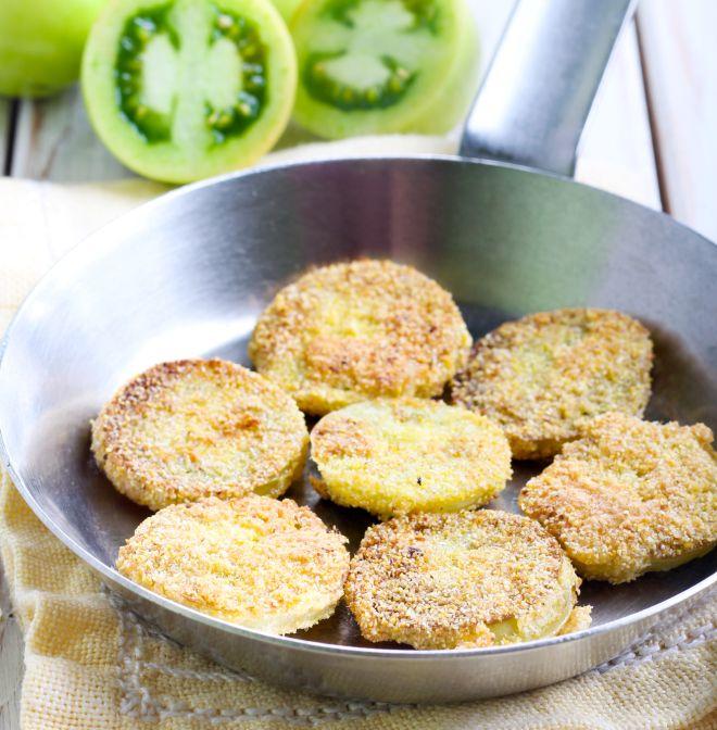 menu-cena-compleanno-marito-pomodori-verdi-fritti