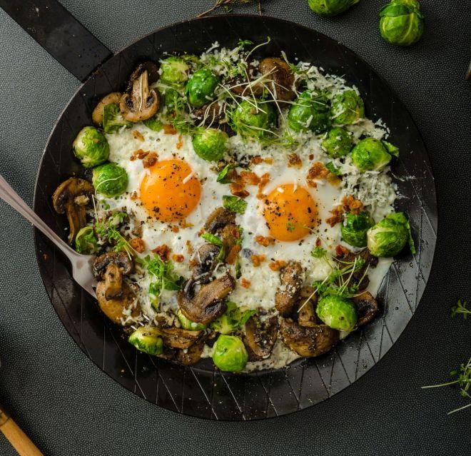 Ricette con i cavoletti di bruxelles mamma felice - Come cucinare champignon ...