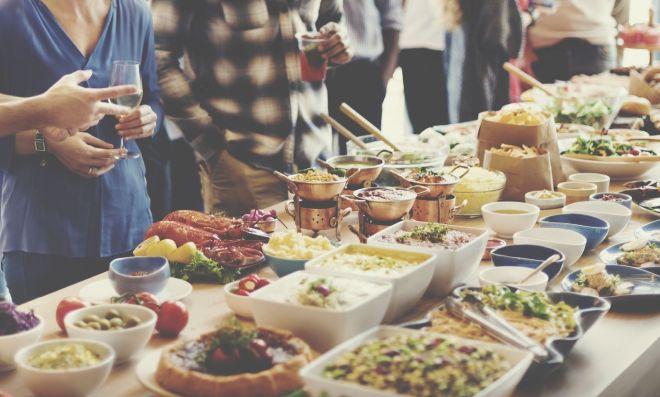 Come organizzare una cena a buffet mamma felice
