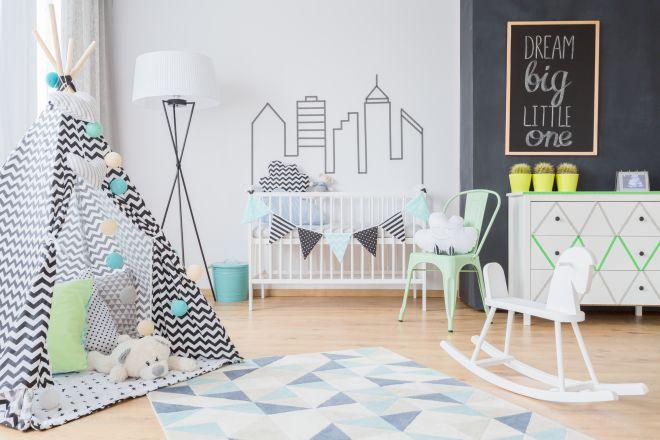 Come organizzare la cameretta del neonato mamma felice - Idee camera neonato ...