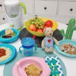 Menù settimanale per bambini di 10-12 mesi