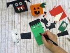 Lavoretti di Halloween con la carta, super facili
