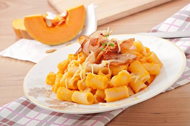 pasta zucca pancetta