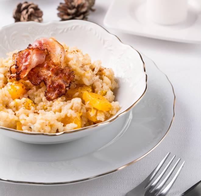 ricette-con-zucca_risotto-bacon-croccante