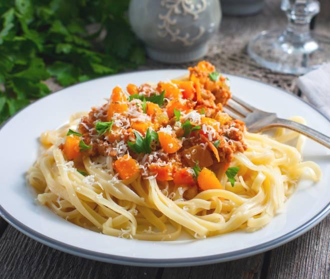 ricette di pasta con la zucca