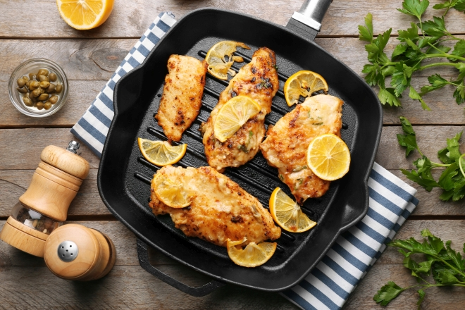 ricette-pranzo-ferragosto-menu-estate_pollo-capperi-limone