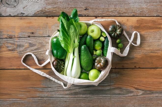 menu-vegetariano-con-lista-della-spesa